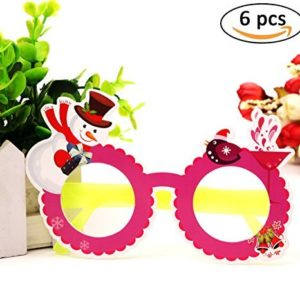 Kids Novelty Holiday Glasses Party Favors Bulk for Adults (6 Pack) – 59% Off